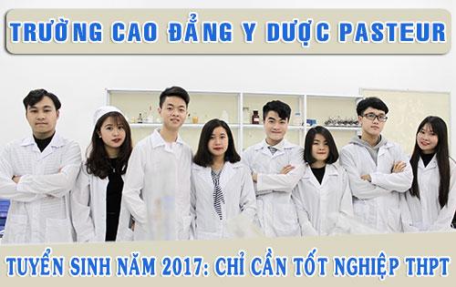 Thời gian xét tuyển Cao đẳng Dược Hà Nội năm 2017.