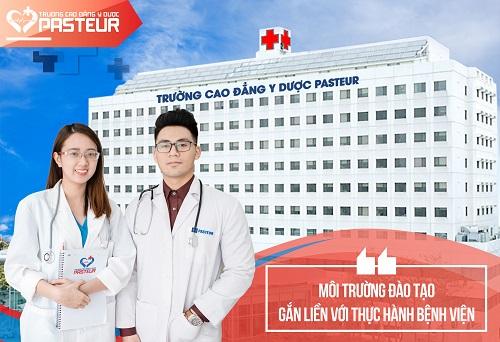 Cao đẳng Y Dược Pasteur TP.HCM đào tạo theo mô hình Viện - Trường